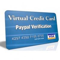 Kartu VCC ( Visa 5 Tahun ) Untuk verifikasi Paypal