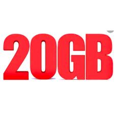 Paket Hosting 20 GB